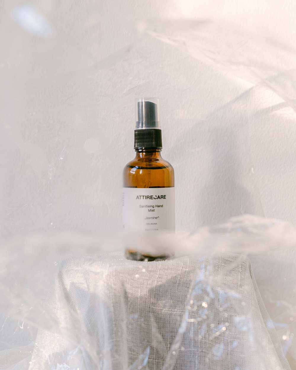 Styled image of Attirecare Sanitising Hand Mist